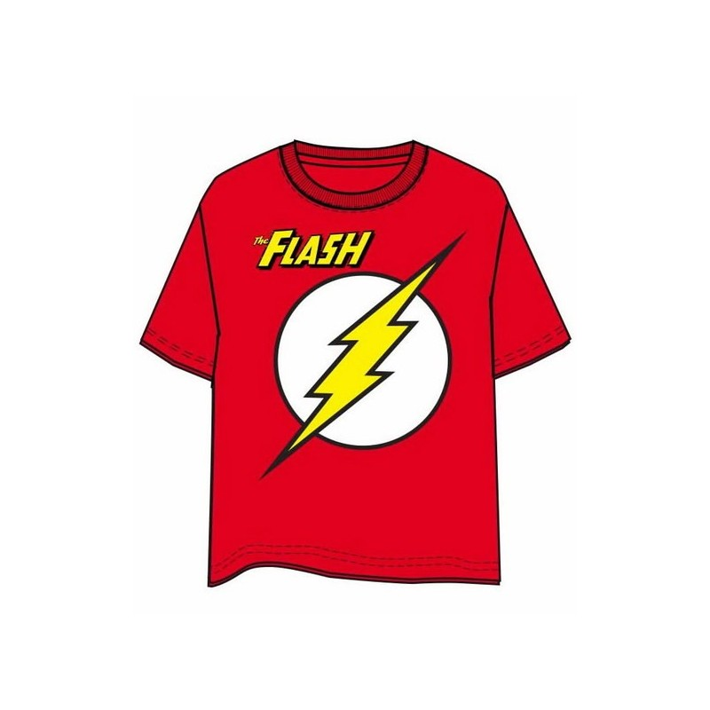 Camiseta The Flash Logo Xl