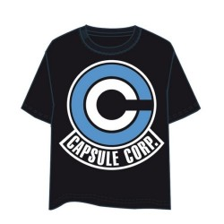 Camiseta Dragon Ball Capsule Corp Logo M