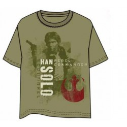 Camiseta Star Wars Han Solo L