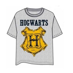 Camiseta Harry Potter Hogwarts Gris Xxl