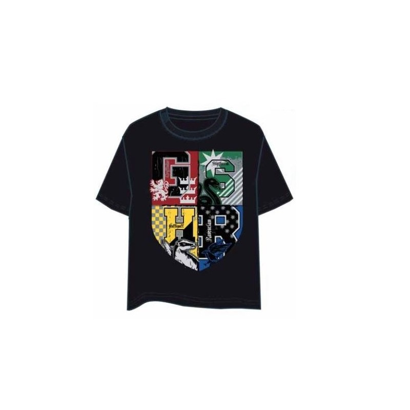 Camiseta Harry Potter Houses L