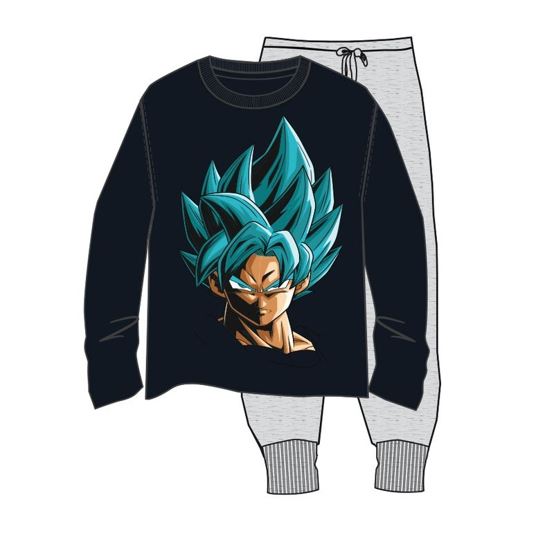 Pijama Ml Dragon Ball Goku Dios S