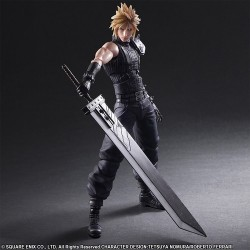 Figura Play Arts Kai Final Fantasy Cloud 27 Cm