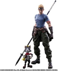Figura Final Fantasy Vii Cid Highwind & Caith Sith Play Arts