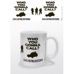 Taza ghostbusters who you gonna call