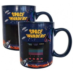 Taza de calor de Space Invaders