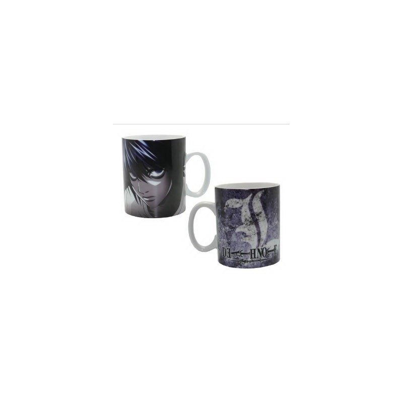 "Taza Death Note ""l"" Gris"