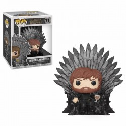 Figura pop game of thrones: tyrion on throne
